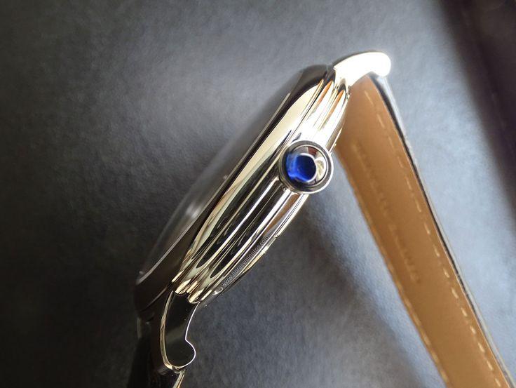 #Boucheron Epure Acier 42 mm doble bocel de la carrura