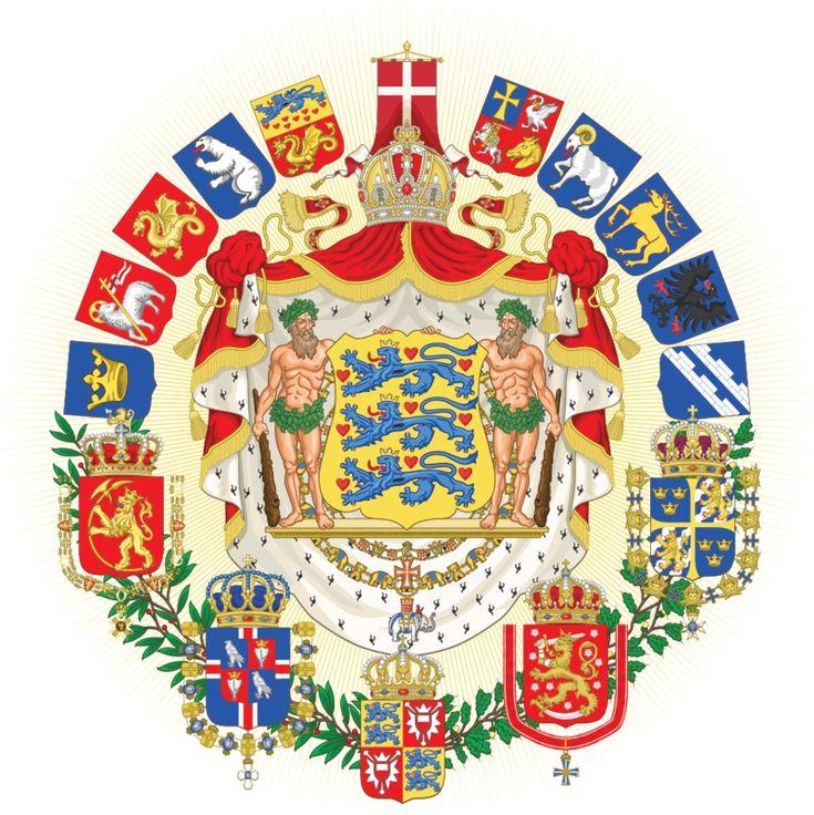 Greater coat of arms of the Scandinavian Empire by Regicollis.deviantart.com on @deviantART