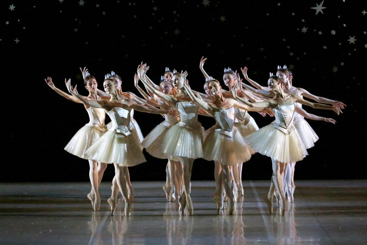Ballet dancers perform in Nacho Duato's <em>The Nutcracker</em> at the Mikhailovsky Theatre in St. Petersburg, Russia, on November 20, 2015.