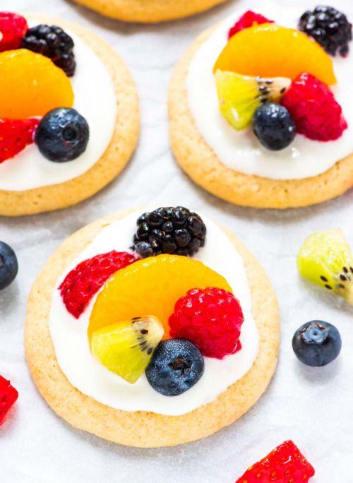 Fruit Pizza CookiesReally nice recipes. Every hour.Show me what  Mein Blog: Alles rund um die Themen Genuss & Geschmack  Kochen Backen Braten Vorspeisen Hauptgerichte und Desserts # Hashtag
