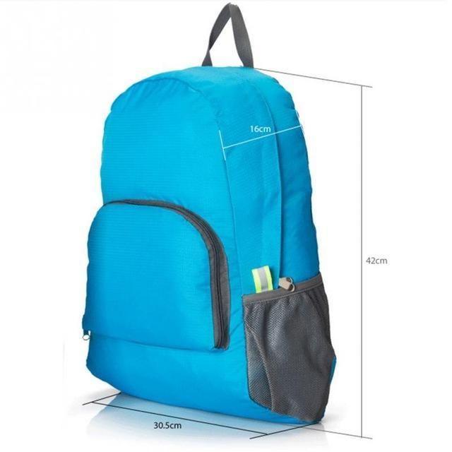 4aac464603f4 Lightweight Foldable Waterproof Nylon Women Men Skin Pack Backpack Travel