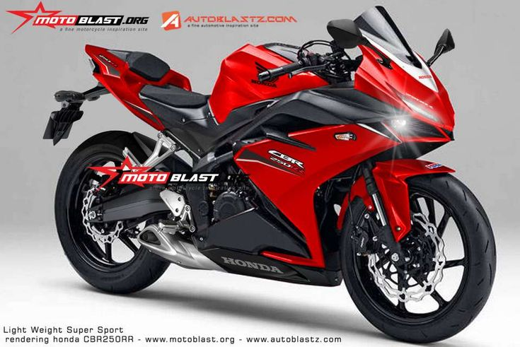 Honda CBR250RR front quarter rendering based on light weight super sports concept