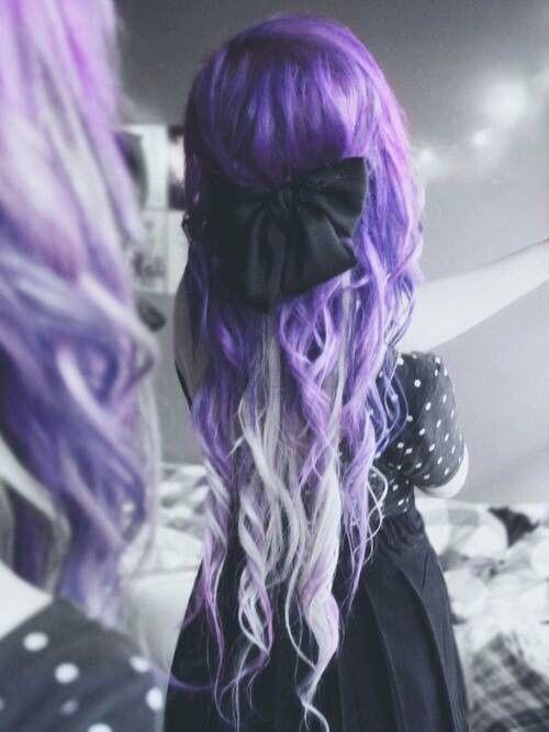 Imagen de hair and purple