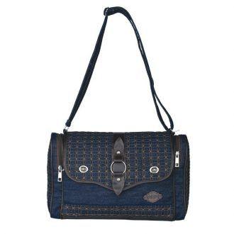 Hand bag Wanita Raindoz Unik Lucu Cantik Casual Bahan DENIM GG-00247