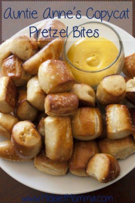homemade soft pretzel bites recipe Easy homemade Pretzels