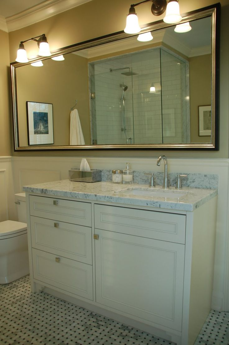 Vanity With Offset Sink : Offset vanity