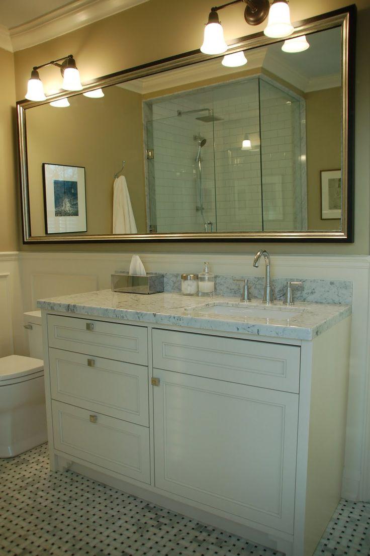 Vanity With Offset Sink : Offset vanity
