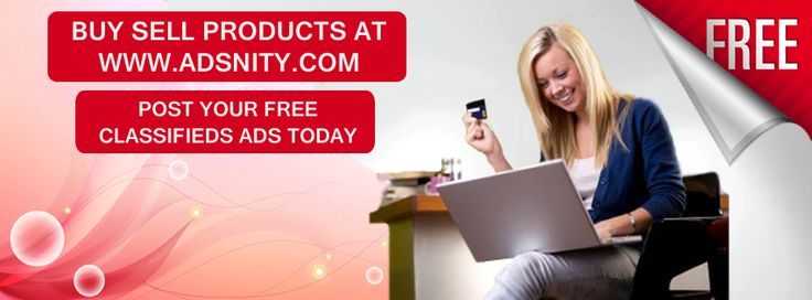 Post free online ads on Adsnity for all types of categories. Adsnity is a free classifieds website where advertisers can post ads for international locations, list their business or services free at Adsnity classified. Post premium classified ads in order to buy, sell, and promote your products or business. Get maximum online visibility by submitting ads on Adsnity.com