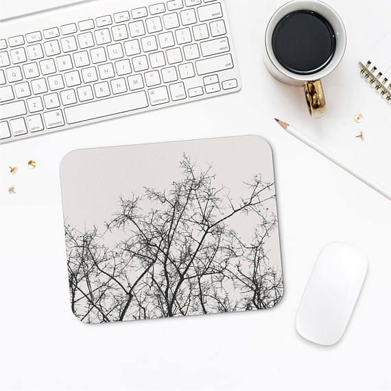 Tree Branch Mousepad Nature Office Decor Tree Mousepad