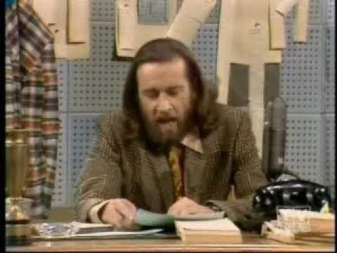 Flip Wilson & George Carlin Funny News Clips. Classic comedy skits. Hippy Dippy