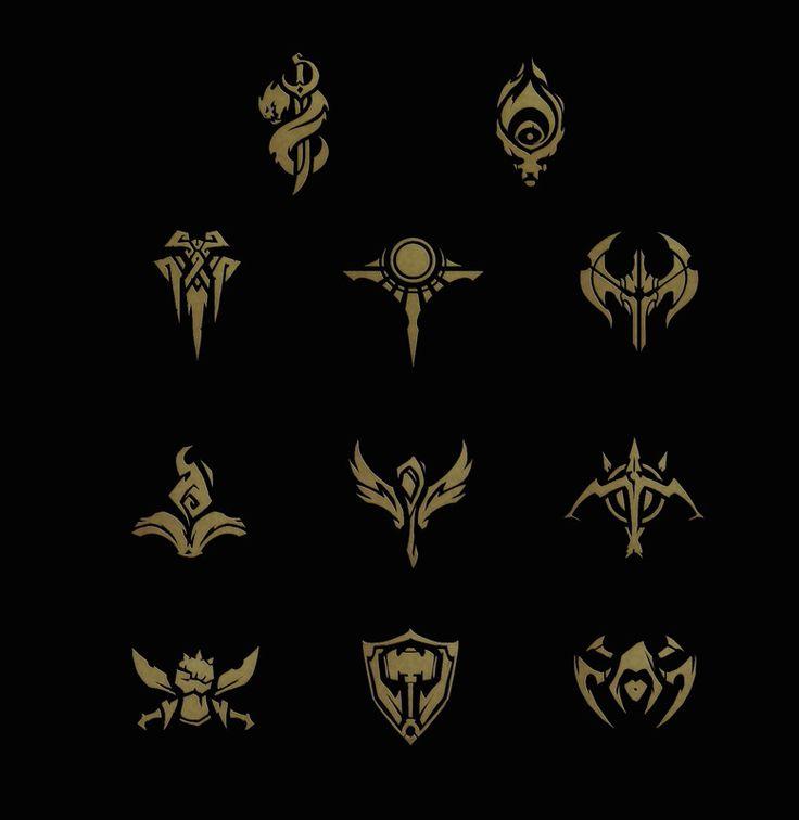 ArtStation - Icon Concepts (League of Legends), Samuel Thompson