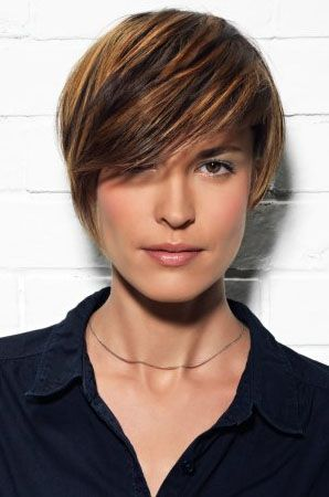 But before you style your hair with these short choppy hairstyles you ...