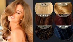 Entenda os números das cores de tintas e tonalizantes de cabelo