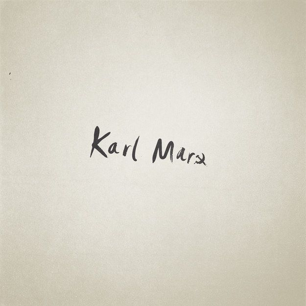 Karl Marx: | These Minimalist Illustrations Of Famous Names Are Perfect