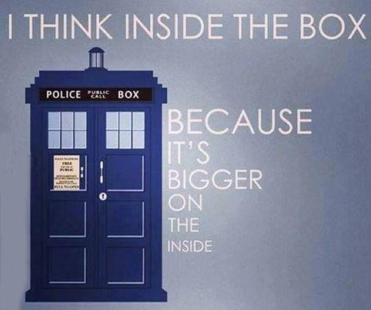 Thinking inside the box…