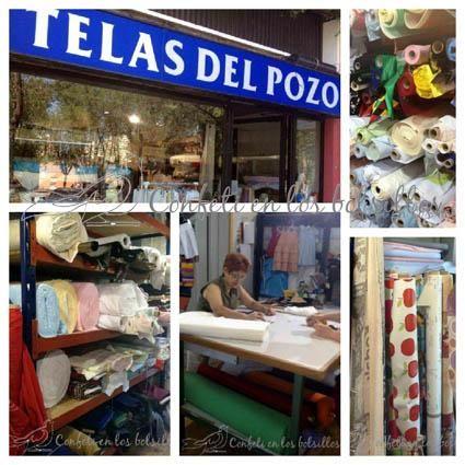 Mis tiendas de Telas