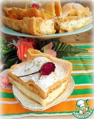 Заварной пирог-торт «Карпатка»