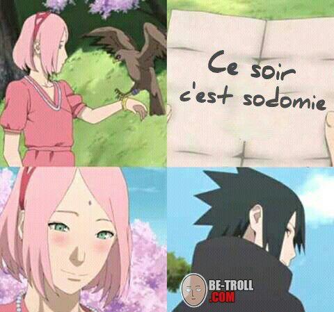 Coquinou Sasuke... - Be-troll - vidéos humour, actualité insolite