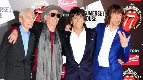 The Rolling Stones have been named as one of the three headline acts for the UK's Glastonbury Festival 2013. It will be the first time the Rolling Stones have played at the festival, which will draw about 135,000 people. (via BBC)