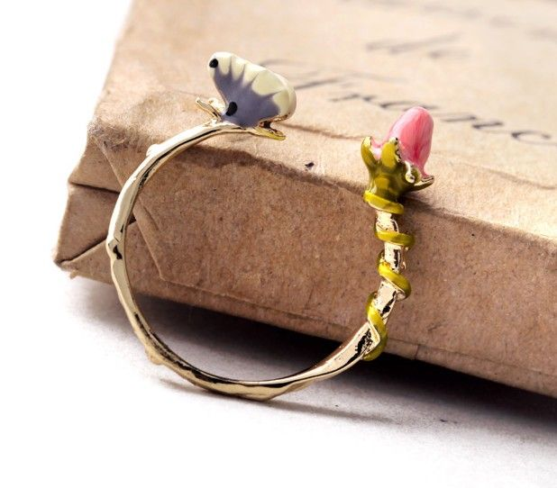 Butterfly Band Ring