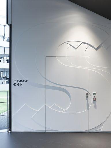 adidas laces signage system and interior design herzogenaurach 2011 / büro uebele #graphics #signage #tradeshow