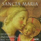 What I listened to while writing REDEMPTION:  Sancta Maria: The Mysteries of the Rosary, Benedictine Nuns of Saint-Michel de Kergonan