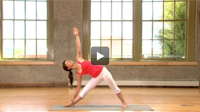 Align the lower three chakras and create stability and self-assurance with this fun sequence by Alanna Kaivalya.