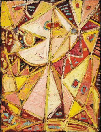 """Egill Jacobsen, """"Rood masser"""" 1943"""