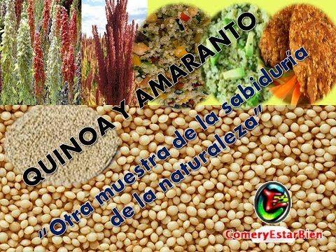 Quinoa y Amaranto…otra muestra de la sabiduría de la naturaleza | ComeryEstarBien