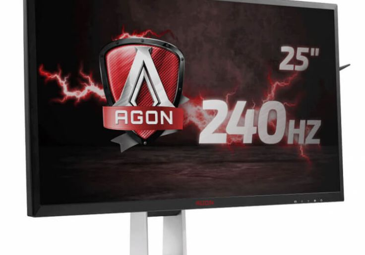 AOC launches 25-inch FreeSync monitor with 240Hz refresh rate