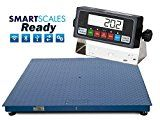 "#7: Floor Scale Pallet Scale 5x5 10,000 lb 60"" x 60"" Heavy Duty Steel with Indicator   https://www.amazon.com/Floor-Scale-Pallet-Heavy-Indicator/dp/B01ETLIG3S/ref=pd_zg_rss_ts_indust_393255011_7?ie=UTF8&tag=azlab-20"
