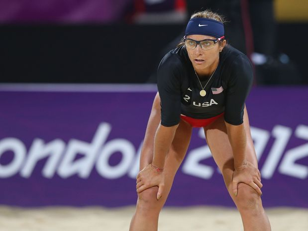 Misty May (USA) - vôlei de praia  Foto: Getty Images.