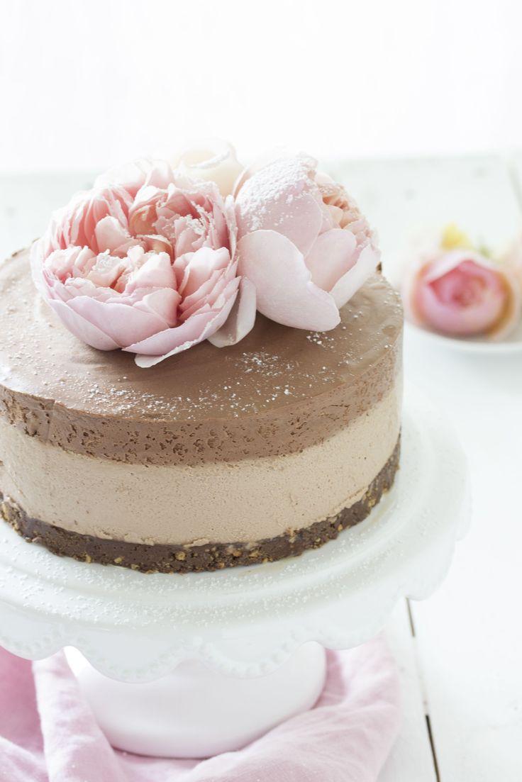 Nutella Schoko Mousse Torte