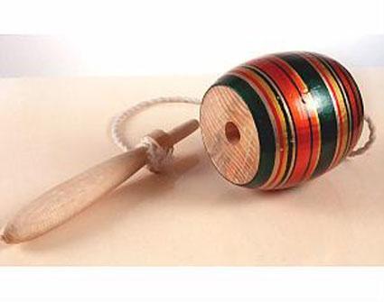 Un capirucho: los hacía y jugaba mucho de esto cuando era niño.
