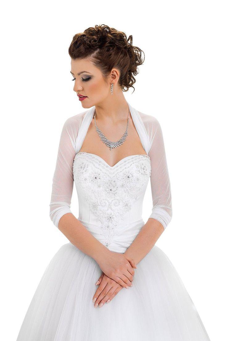 femme veste de mariage gilets bolros etoles bolro chle pour la marie blanc ivoire tulle extensible - Bolero Mariage Blanc