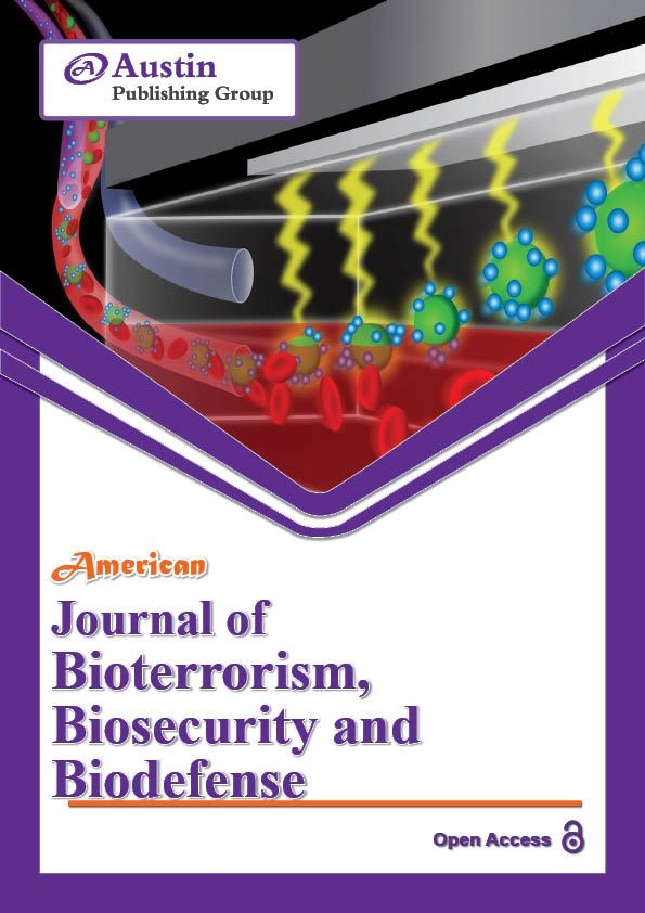 American Journal of Bioterrorism, Biosecurity and Biodefense is a comprehensive Open Access peer reviewed scientific Journal that covers multidisciplinary fields. We provide limitless access towards accessing our literature hub with colossal range of articles.
