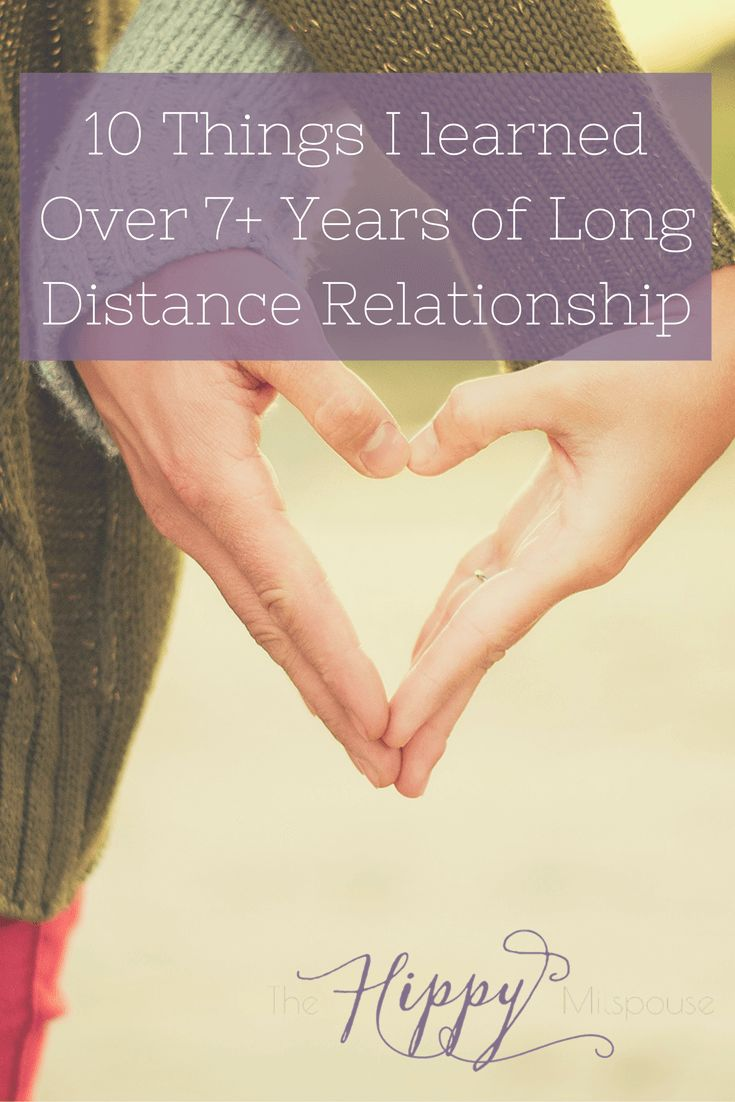 long distance relationship for 7 years