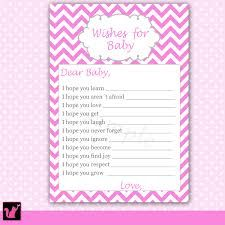 Free Printable Wishes For Baby Cards   Printable Cards
