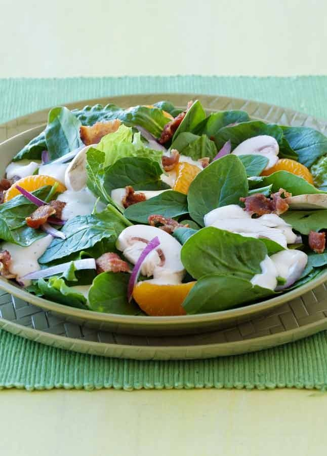 Planning to serve a salad as an appetizer this Thanksgiving? This recipe is a fresh, flavorful choice that requires very few ingredients and won't fill everyone up before the main meal.