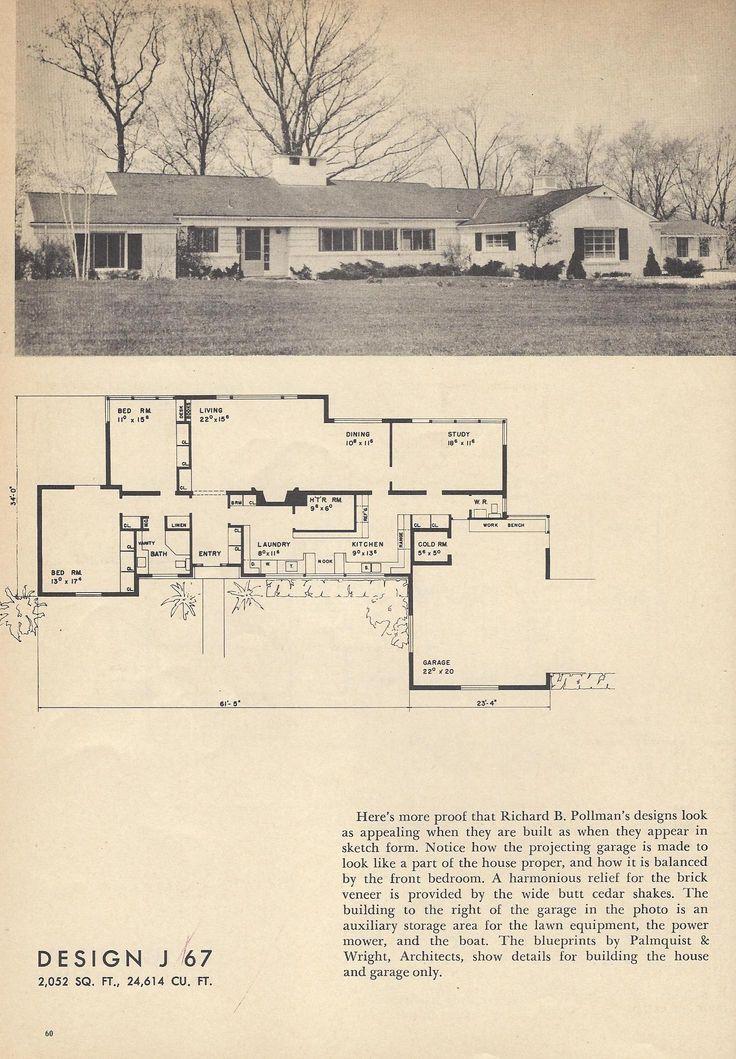 1170 best house plans images on pinterest floor plans vintage