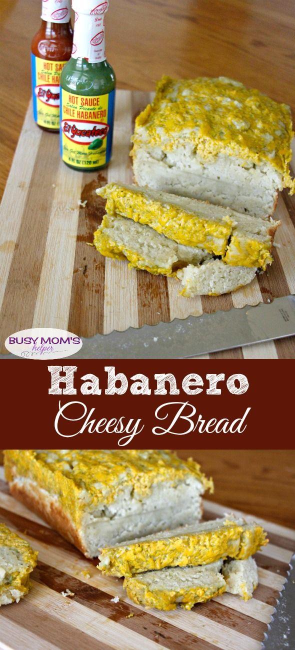 Habanero Cheesy Bread