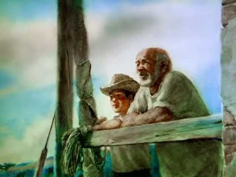 The Old Man and The Sea - Paint-on-glass Animation. Read full article:…