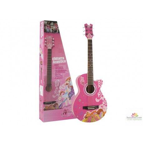 EKO Winx Acoustic Pack - KIT CHITARRA ACUSTICA 3/4 ROSA CON ACCESSORI