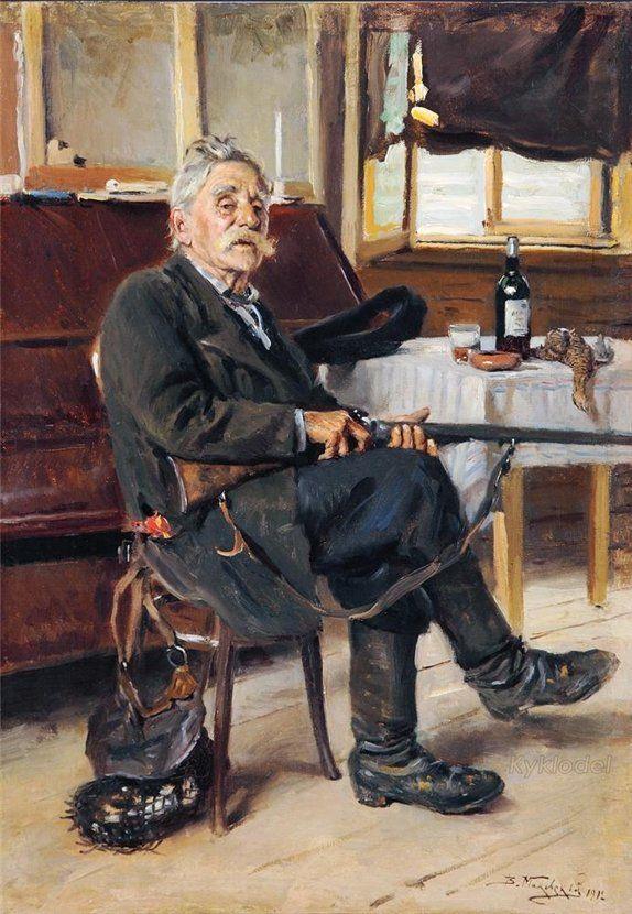 Маковский Владимир Егорович (1846-1920) «Лесничий» 1912