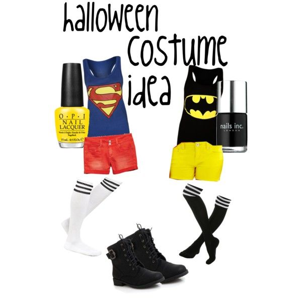 this is a cute and quick idea for a sweet and fun costume idea. Plus you can do this with a friend #halloween #DIYHalloween