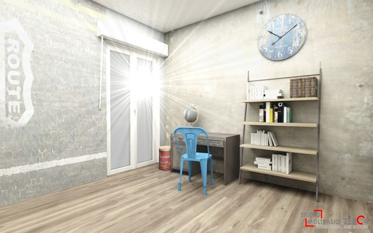 Camerette - Progetti 3D - Studio Moltrasio | Zero4Studio Moltrasio | Zero4