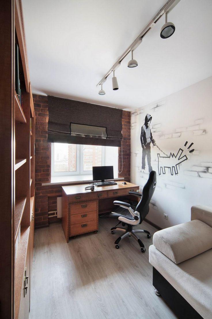 кабинет библиотека: фото дизайна интерьера - автор Градиз Градиз