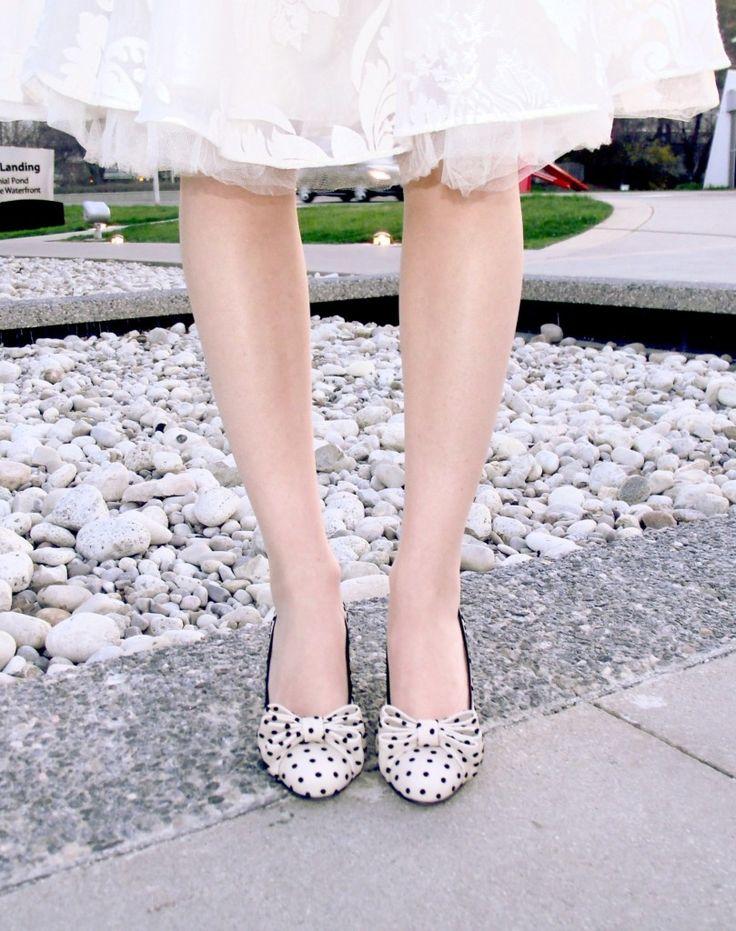 Polka-dot shoes!