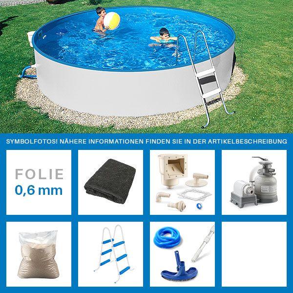 best 25 pool komplettset ideas only on pinterest stahlwandpool rund stahlwandpool. Black Bedroom Furniture Sets. Home Design Ideas