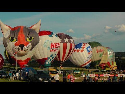 4.Hummel #Montgolfiade #Ballonglühen in #Hummeltal #Landkreis #Bayreuth #Oberfranken #Bayern #YouTube #Ballonfahrt